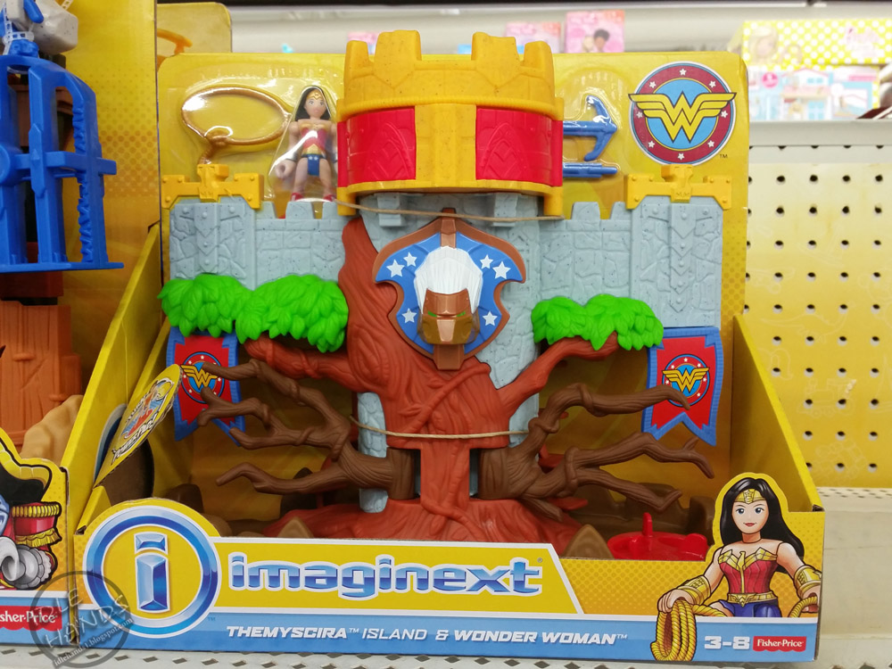 Use Accessories To Link Your Island To The Rest Of Your: Idle Hands: Imaginext Has The Right Toys For Your Little