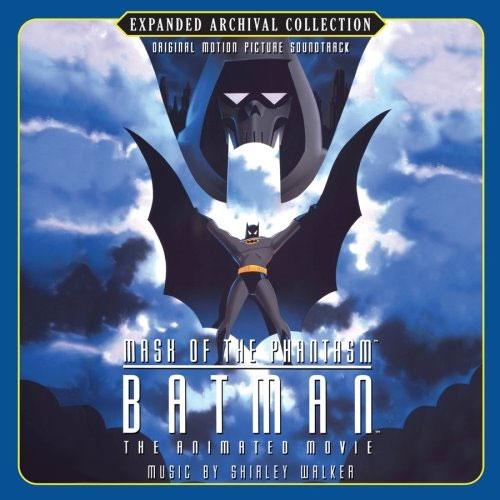Soundtrack cover for Batman: Mask of the Phantasm 1993 animatedfilmreviews.filminspector.com