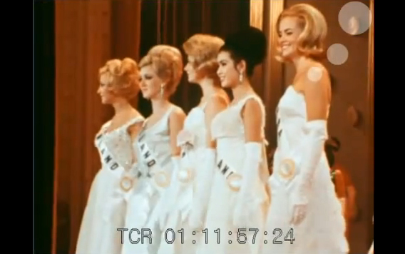 Critical Beauty: VIDEO GEM: Miss Universe 1965 Full Broadcast