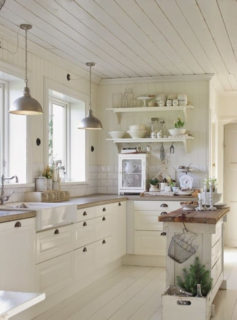 Chic Country Style Kitchens 1