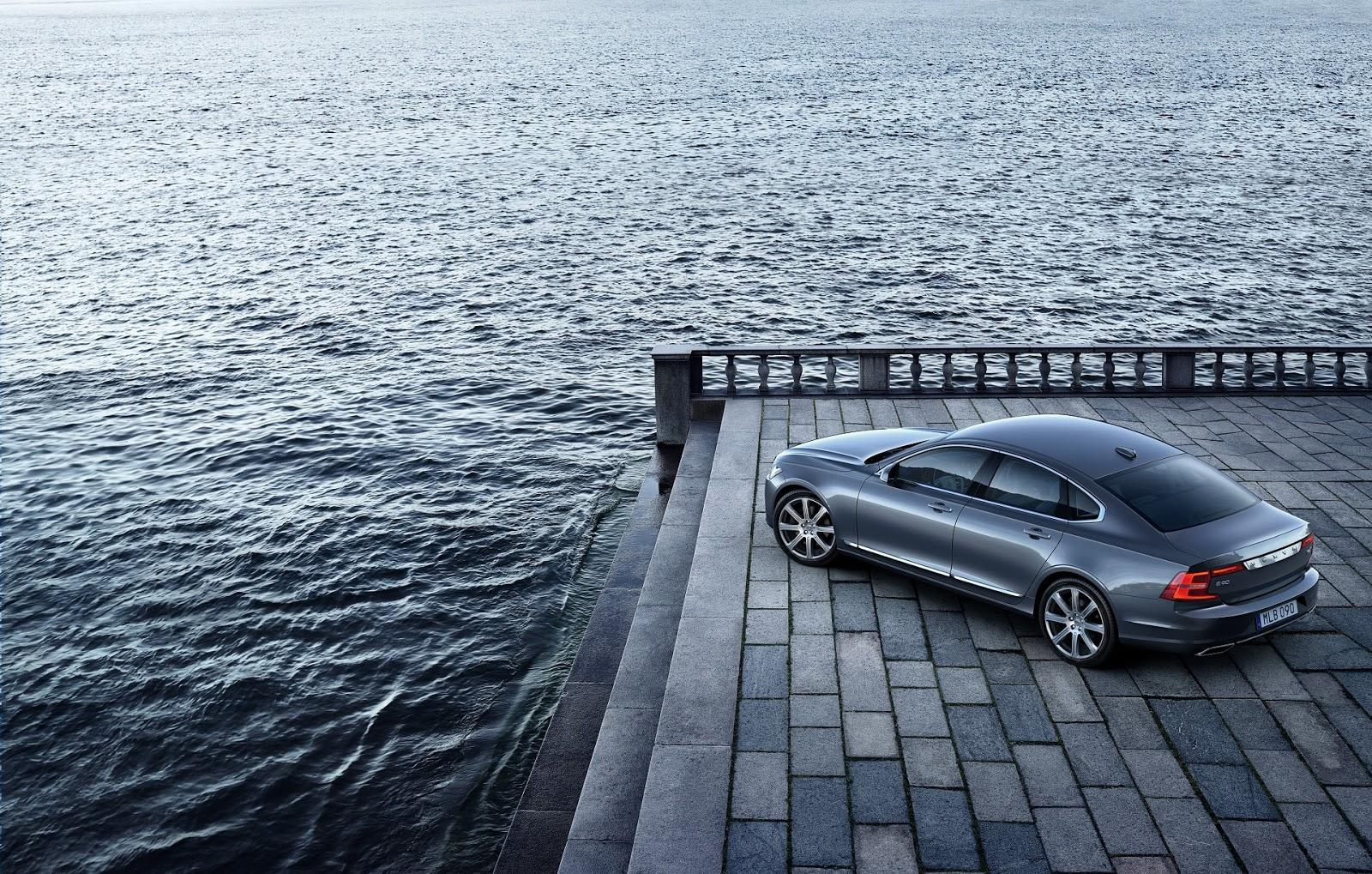 NEW%2BVOLVO%2BS90 170194 Location High Rear Quarter Osmium Grey Το νέο Volvo S90 έρχεται και βάζει φωτιά στον ανταγωνισμό premium sedan, Volvo, Volvo Cars, Volvo S90