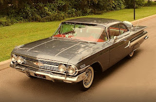 1960 Chevrolet Impala Sports Coupe Front
