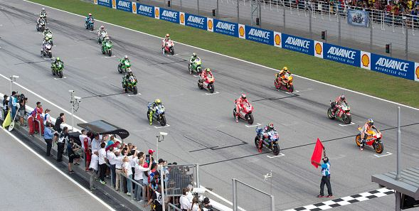 Starting Grid MotoGP