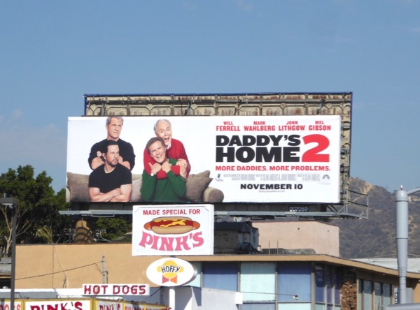 Daddys Home 2 billboard