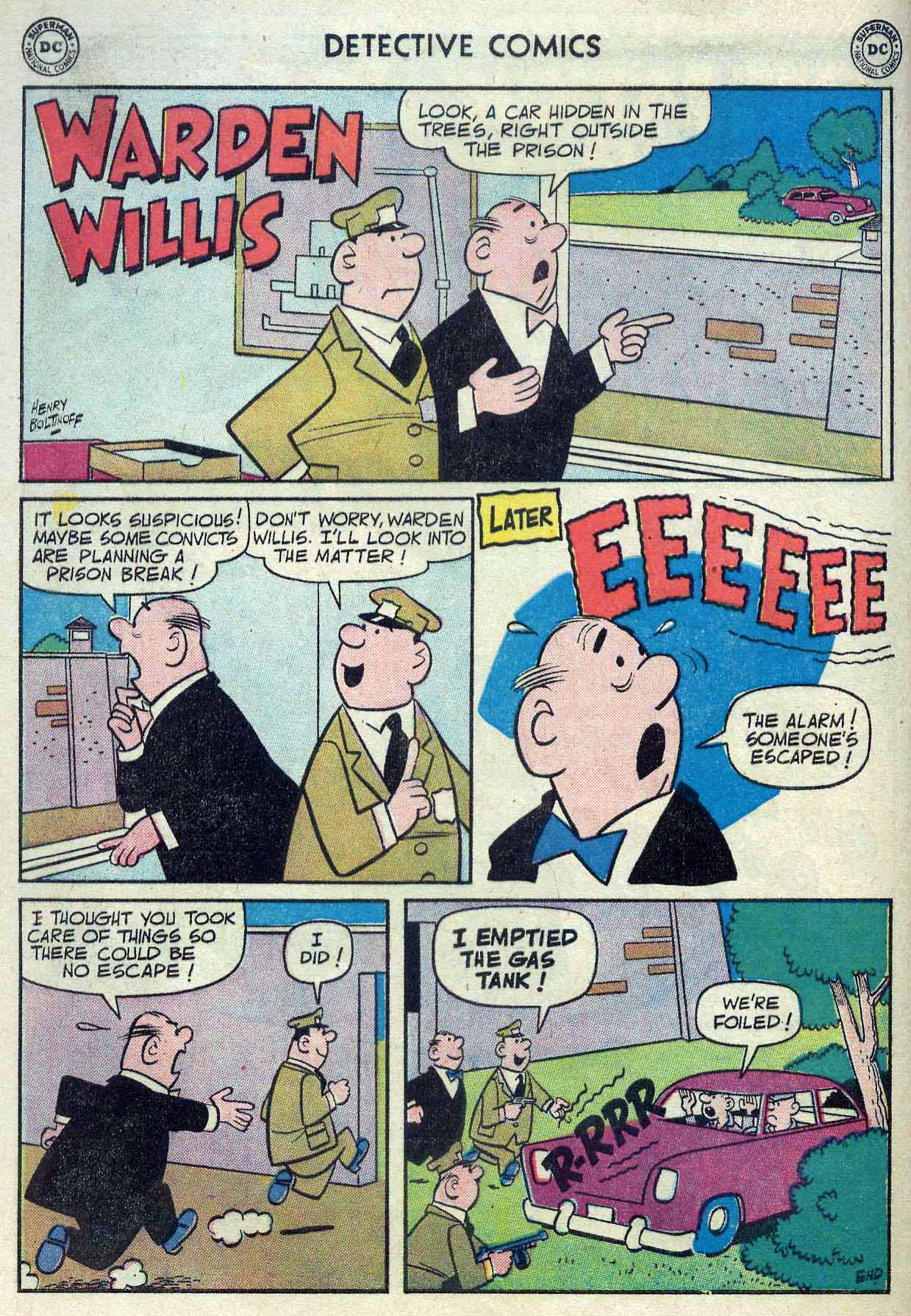 Read online Detective Comics (1937) comic -  Issue #262 - 16