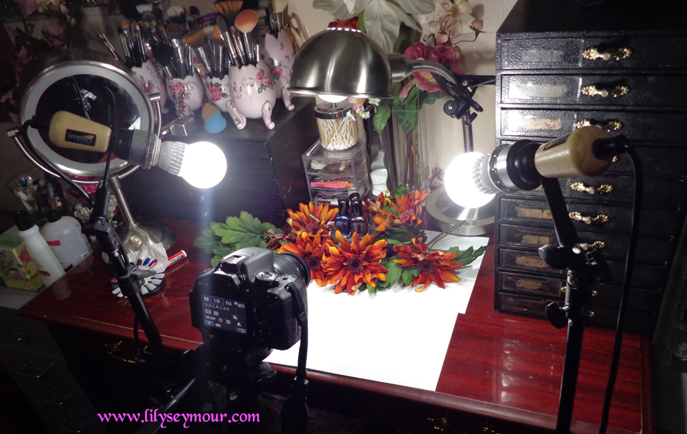 Behind the Scenes Beauty Blogger Photography