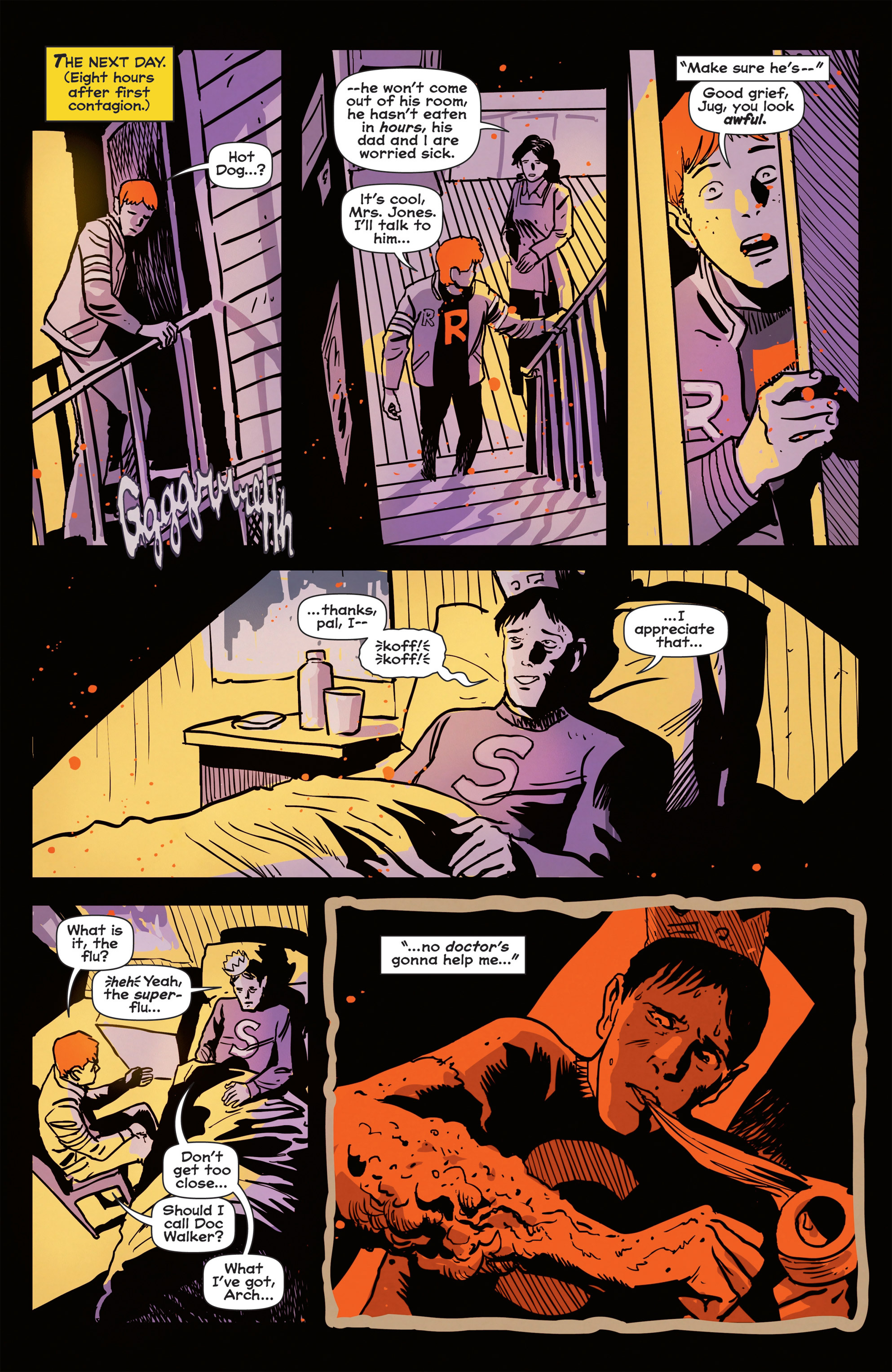 Read online Afterlife with Archie comic -  Issue #1 - 17