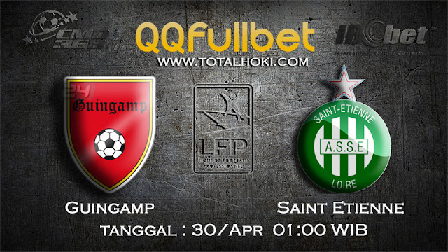 PREDIKSIBOLA - PREDIKSI TARUHAN GUINGAMP VS SAINT ETIENNE 30 APRIL 2017 (LIGUE 1)