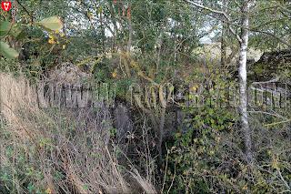 Полукапонир №3. Руины