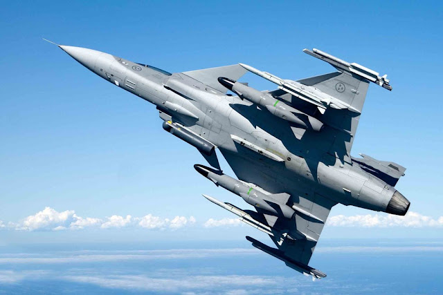 BULGARIA SELECTS GRIPEN FIGHTER JET
