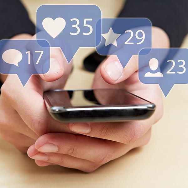 healthcare social media marketing icons