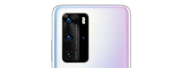 كاميرات هاتف Huawei P40 Pro الخلفية