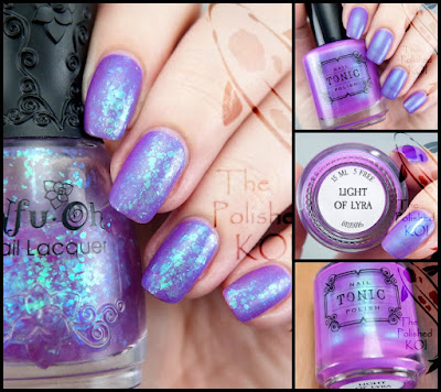 Tonic Polish Light of Lyra and Nfu Oh 50