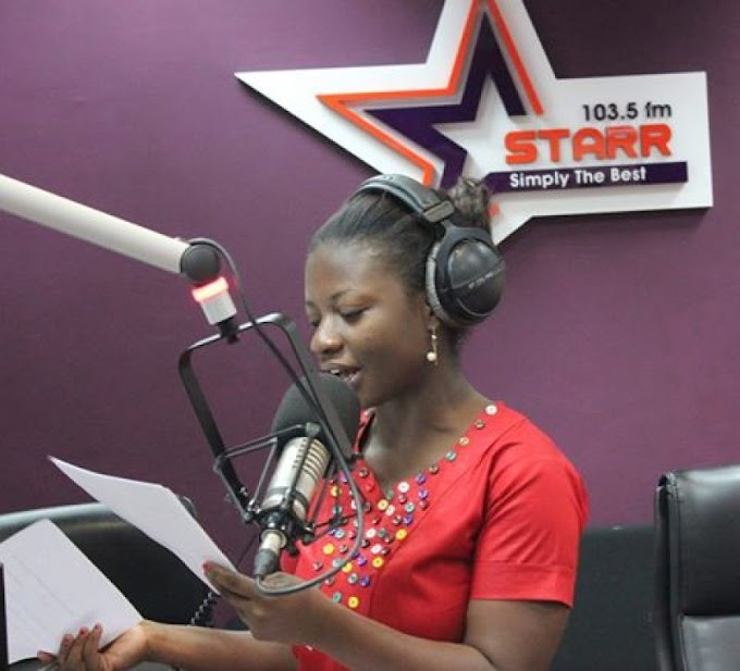 From K'si to Accra: Abena Owusu Nyamekye chronicles her journey to Starr FM