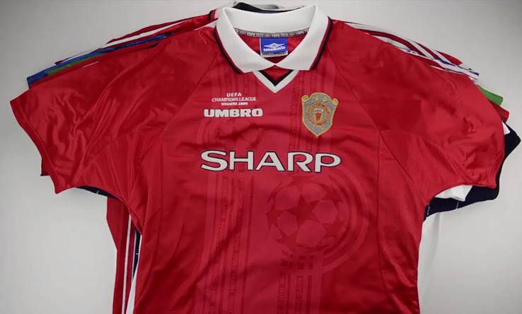 best website 28876 0f563 Here Are All Manchester United 1990s Kits - Footy Headlines