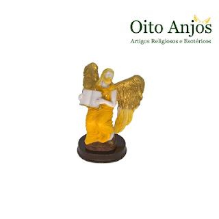 Imagem Arcanjo Metaton Resina - Anjo Metatron Príncipe dos Serafins