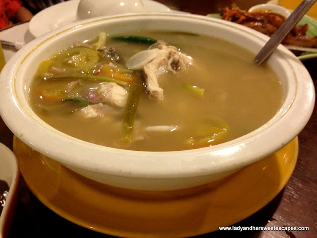 fish sinigang at Ocho Seafood and Grill Tacloban