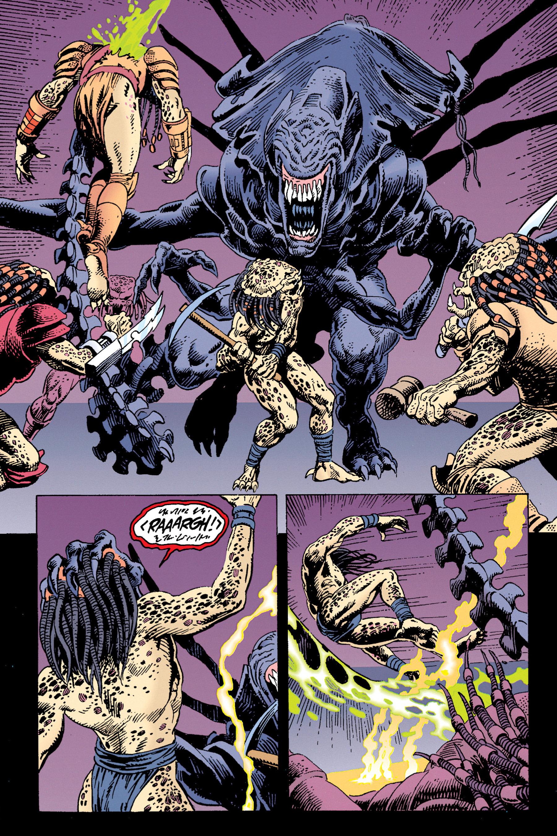 Read online Aliens vs. Predator Omnibus comic -  Issue # _TPB 1 Part 3 - 93