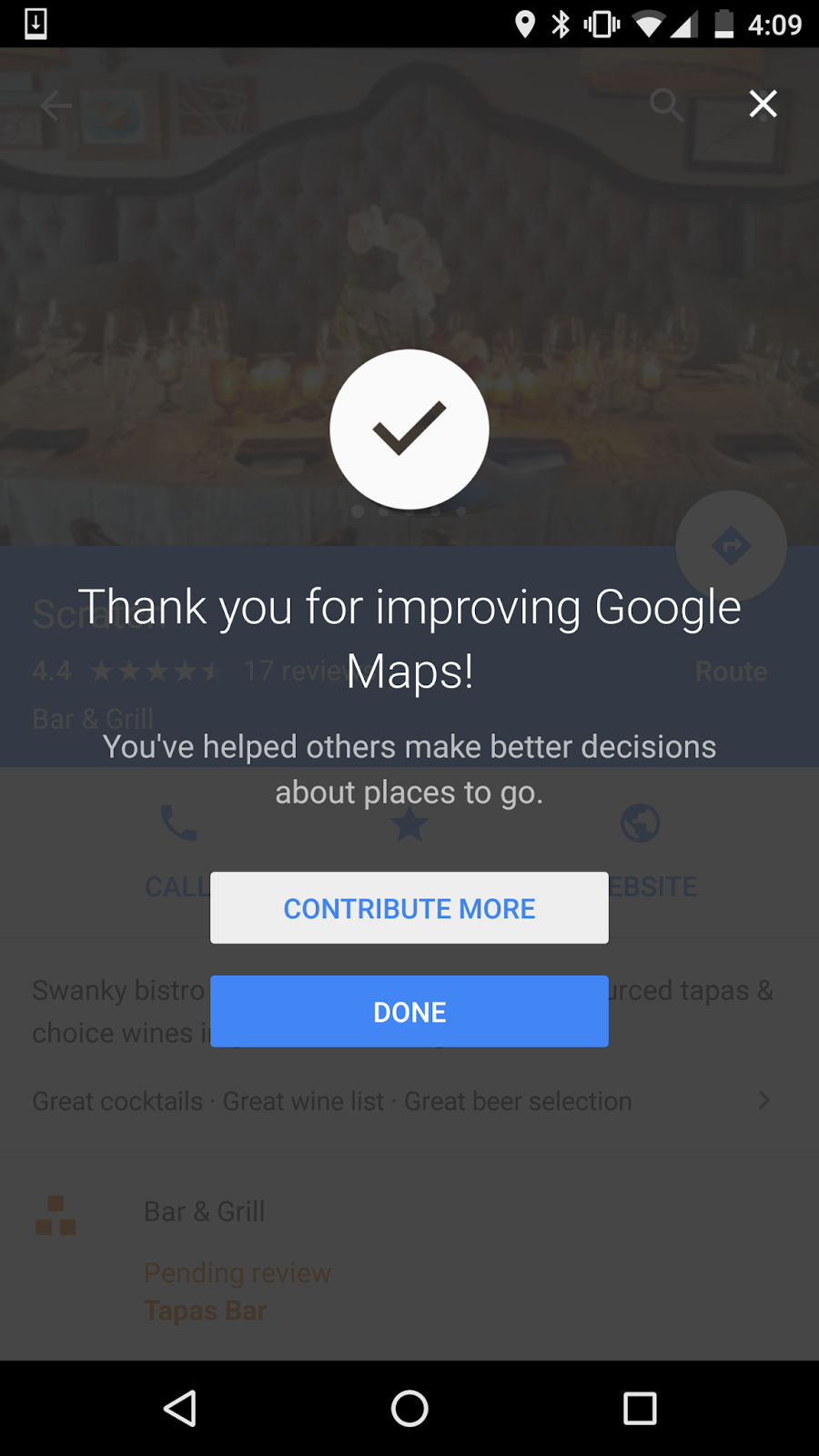 together these new changes let people who are familiar with their neighborhoods help provide accurate reliable information about their favorite haunts and