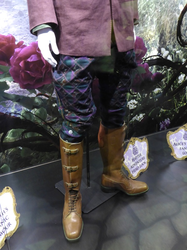 Mad Hatter Adventure Hero boots Alice through Looking Glass