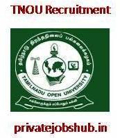 TNOU Recruitment
