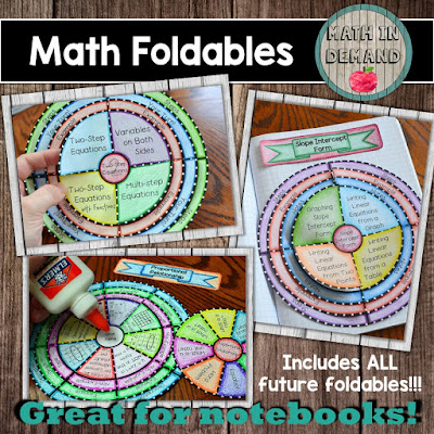 Math Foldables