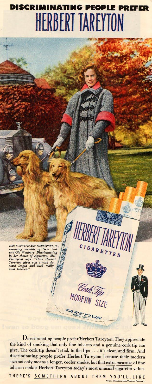 cigarette ads in 1950 u0026 39 s