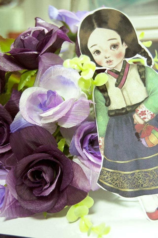 Bonecas de papel para imprimir para o Dia das Crianças