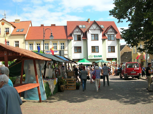 Zakupy robione były na rynku w Pszczewie.