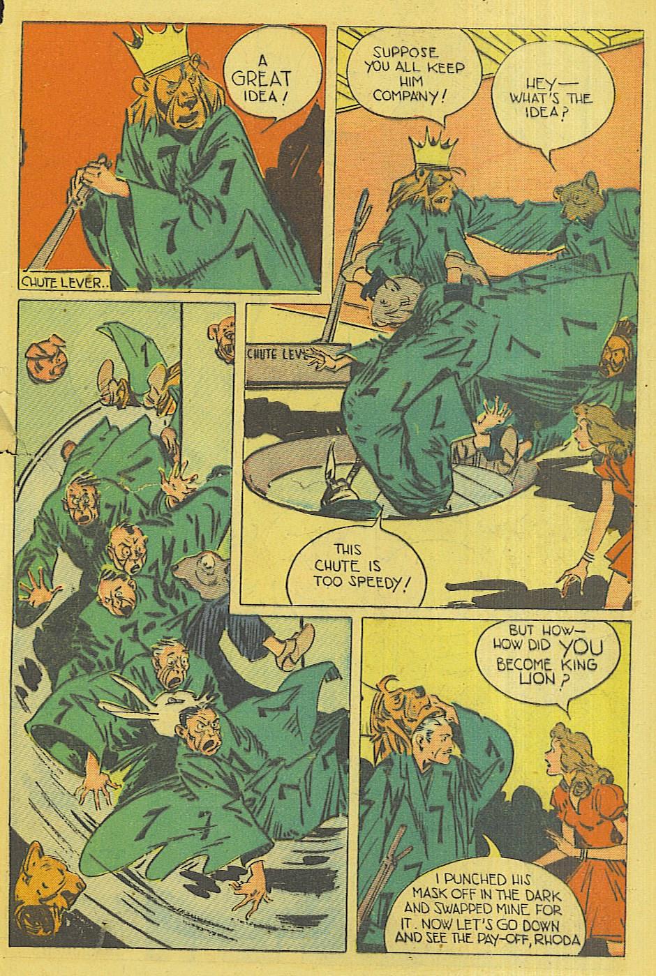 Read online Super-Magician Comics comic -  Issue #42 - 48