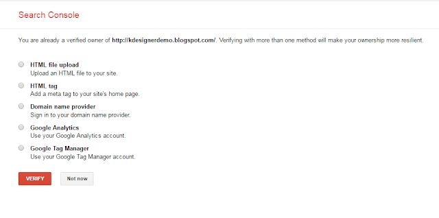 submit blogger sitemap to google search engine