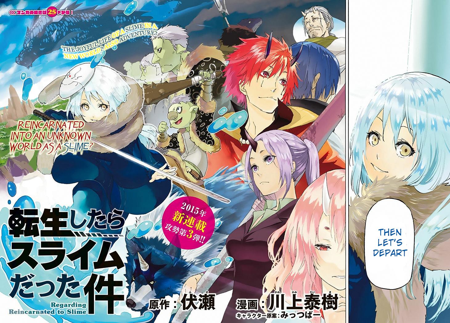 Read manga Tensei Shitara Slime Datta Ken Ch 001 (v002): Death~ and