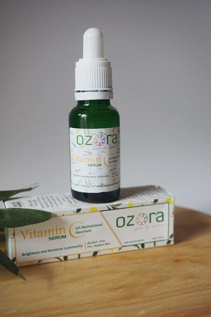 Ozora Vitamin C Serum Untuk Kulit Berminyak dan Sensitif