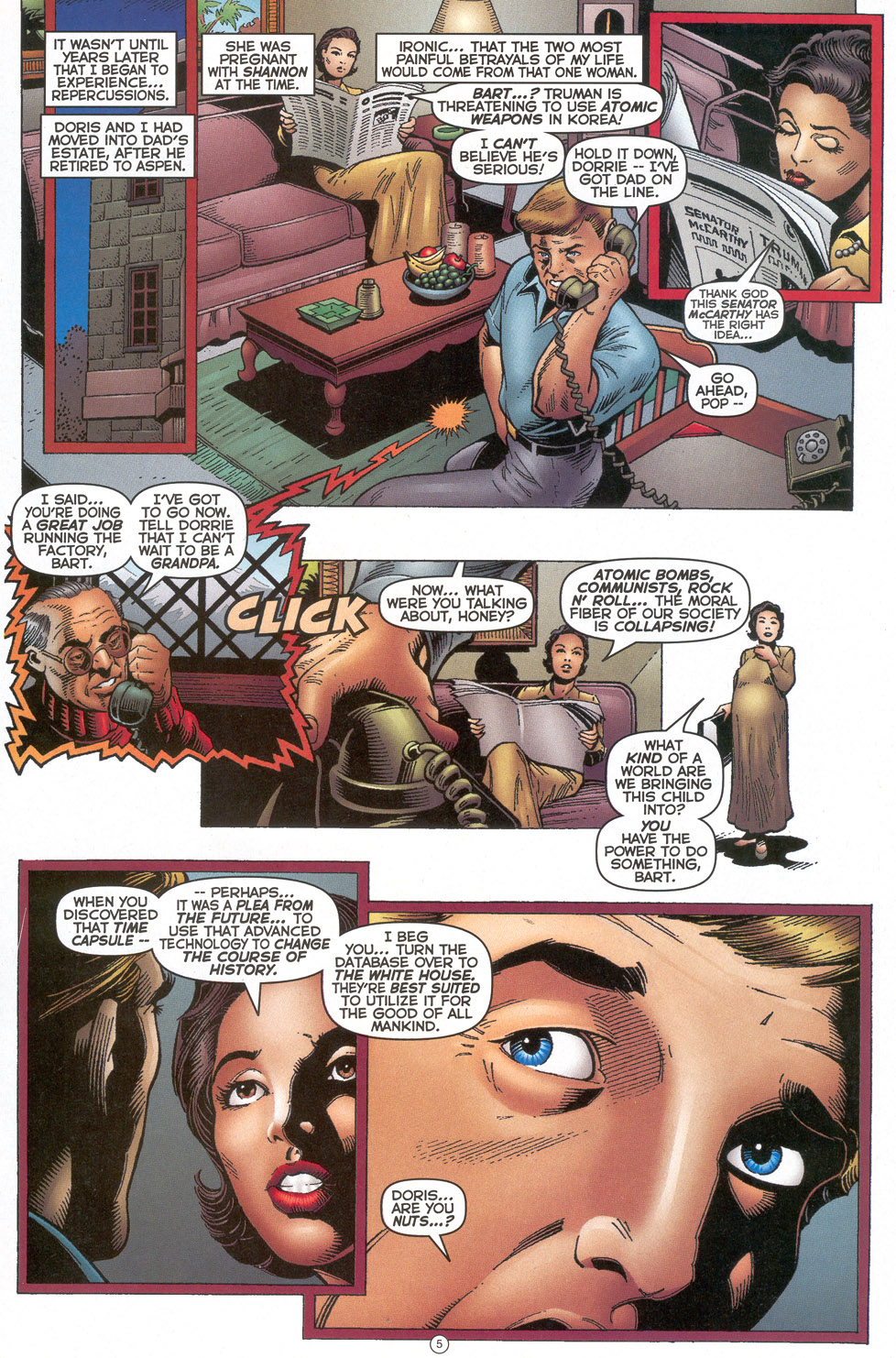 Read online Doctor Tomorrow comic -  Issue #4 - 6