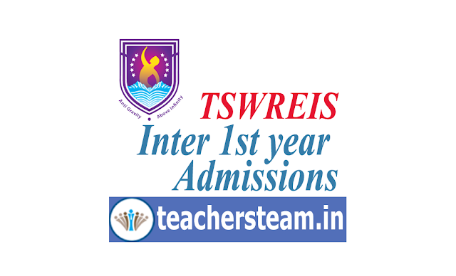 TSWREIS Admission into Intermediate 1st Year