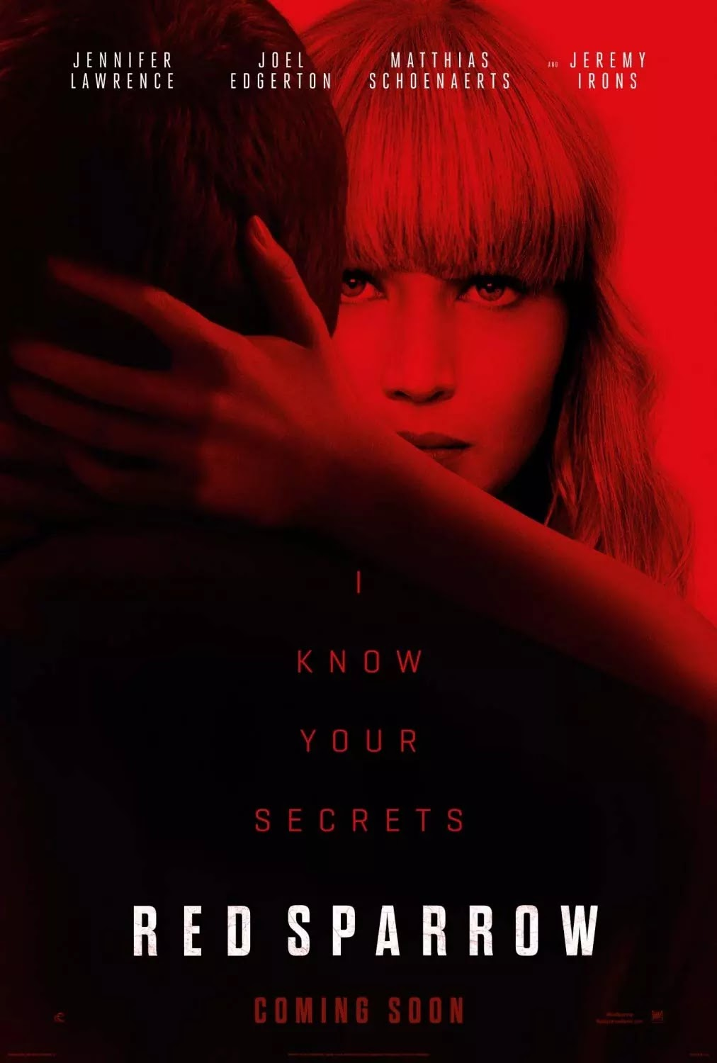 download red sparrow 2018 720p + 1080p bluray x264 + x265 hevc | top
