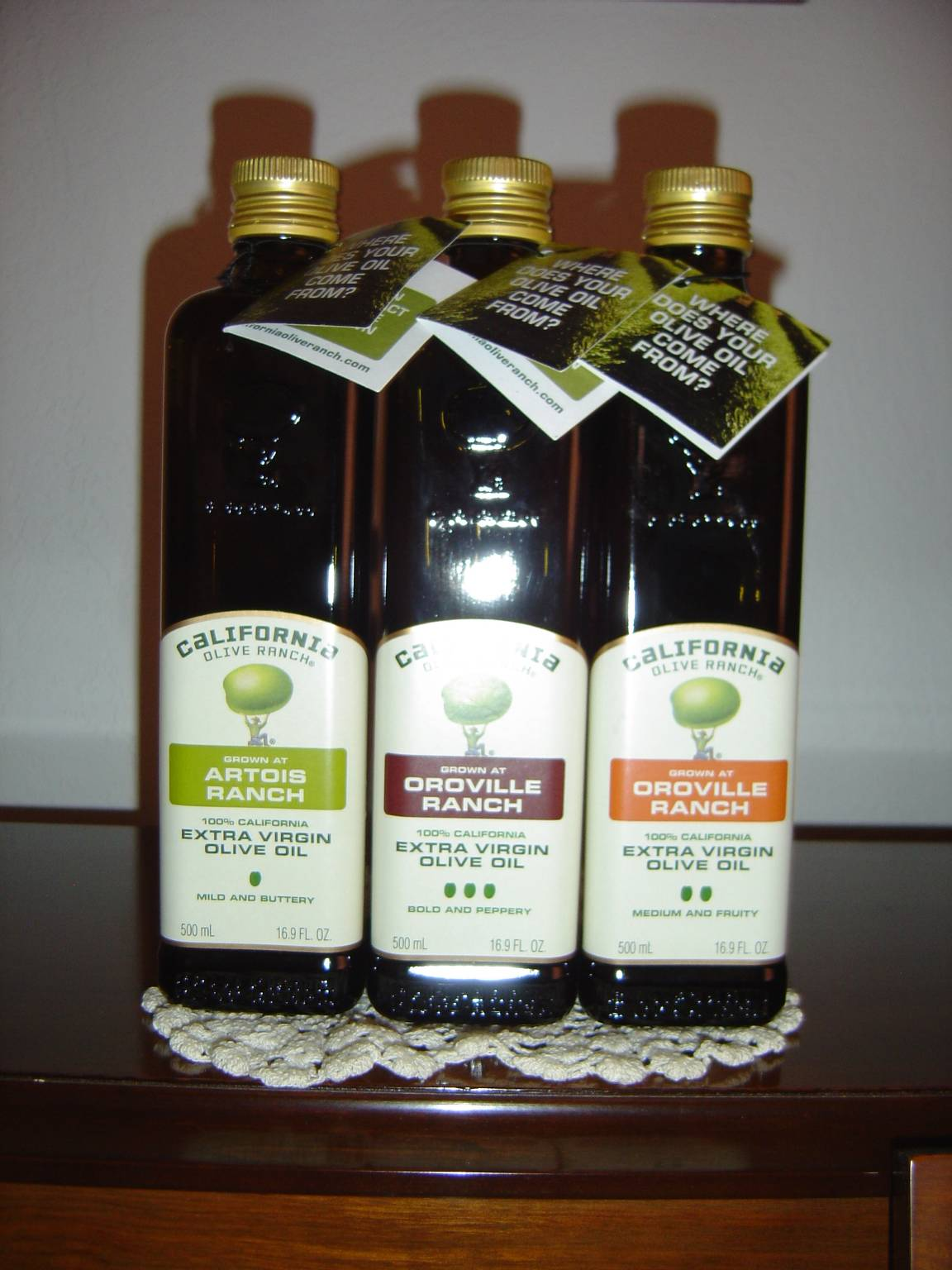 California Olive Ranch Select Extra Virgin Olive Oils