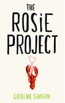 The Rosie Project by Graeme Simison book cover