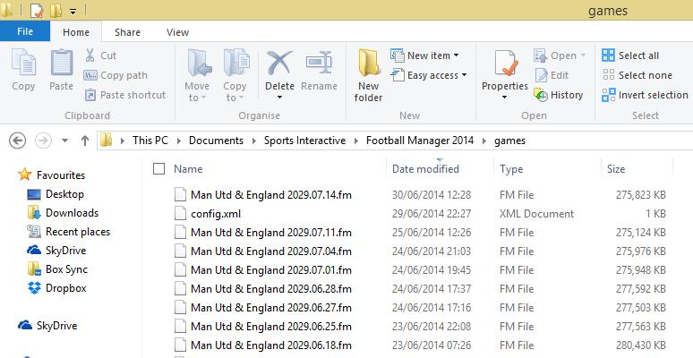 FM Games Folder