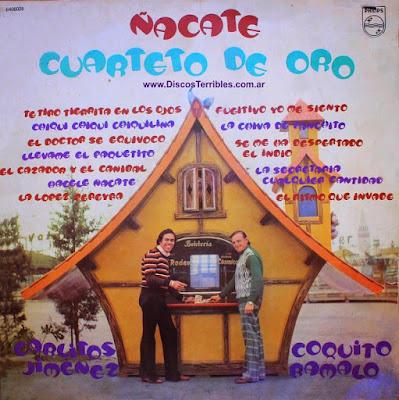 Cuarteto de Oro - Ñacate / Discos Terribles