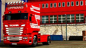 Uppmans paint for Scania RJL