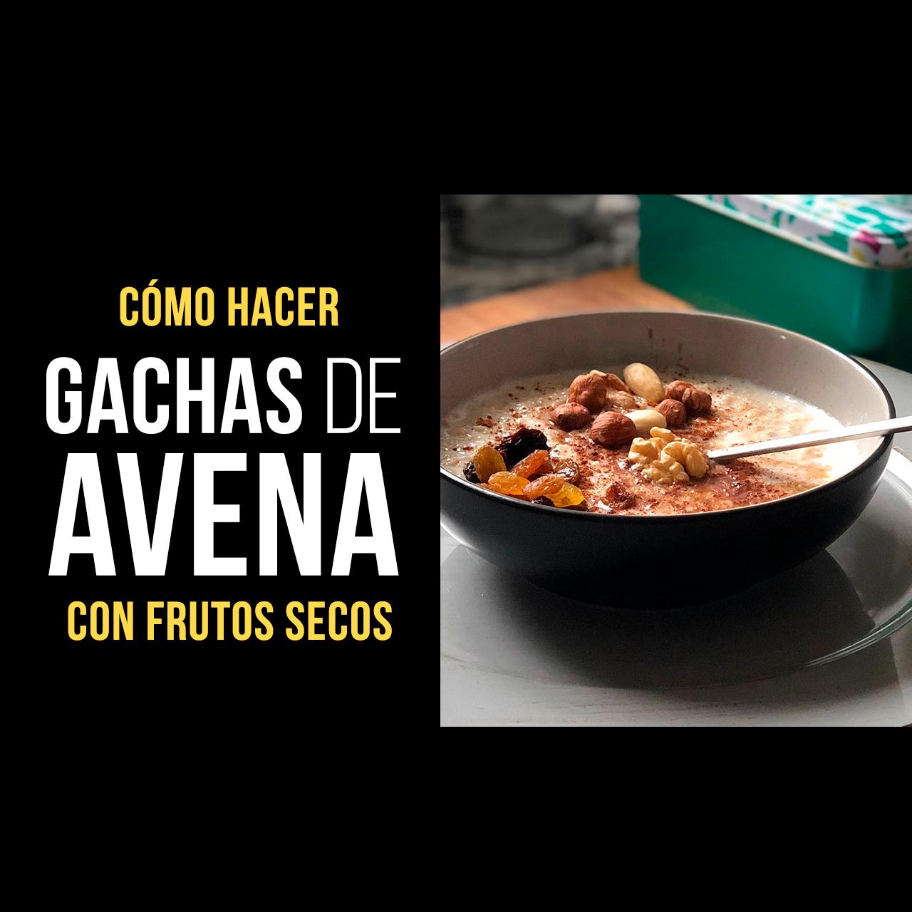 Gachas de Avena con Frutos Secos - Porridge