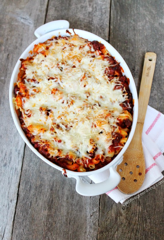 Easy dinner idea - cheesy pasta bake