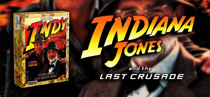 Indiana Jones y la última cruzada: Aventura gráfica ERBE 1990