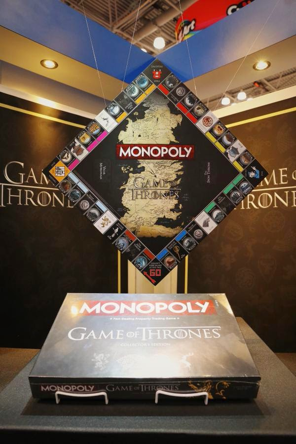 Game of Thrones no Monopoly da Hasbro