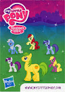 MLP Wave 6 Mosely Orange Blind Bag Card
