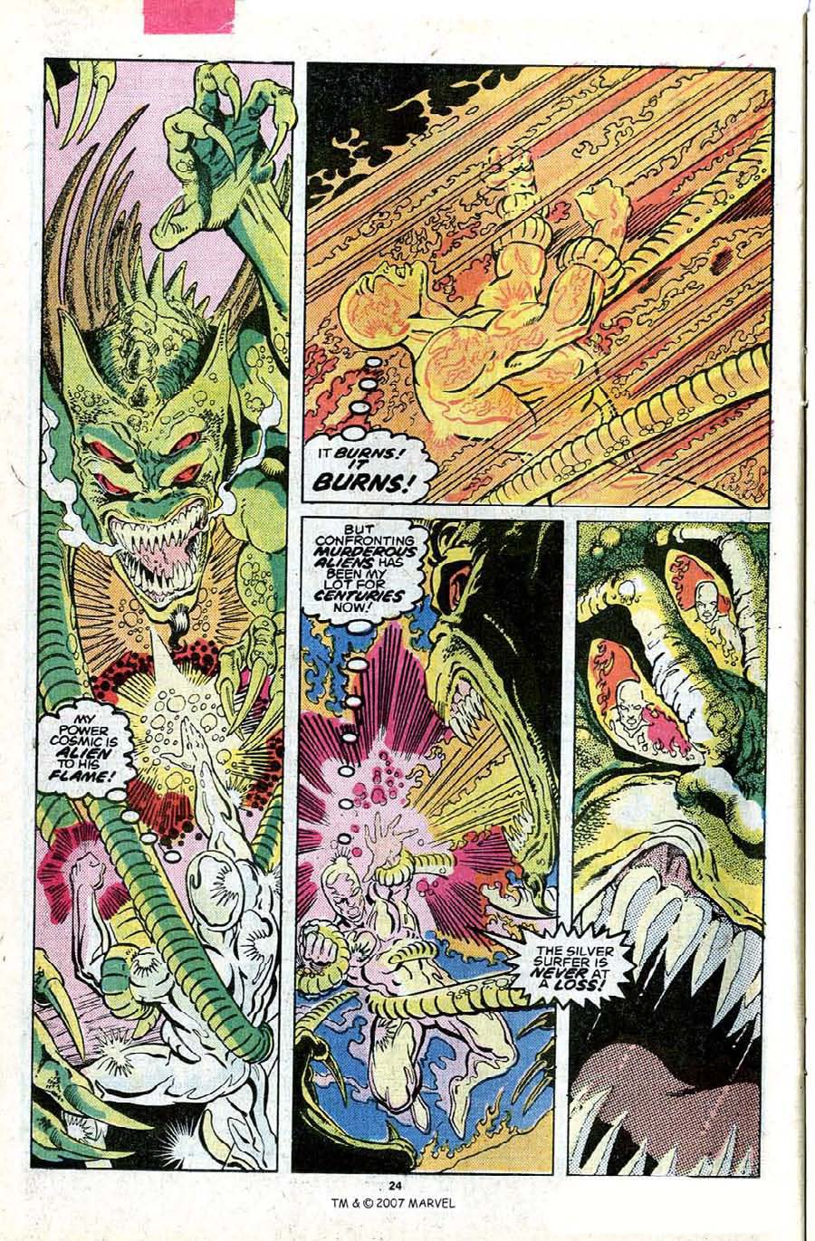 Read online Silver Surfer (1987) comic -  Issue #23 - 26