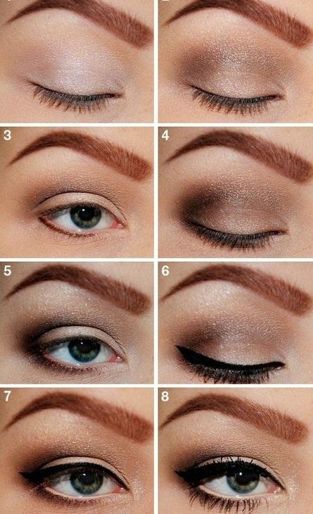 How To Do Evening Makeup For Green Eyes Saubhaya Makeup