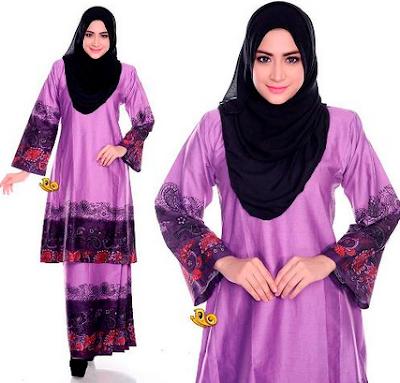 baju batik muslim kerja