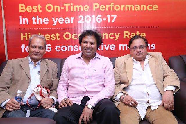 Director Vinod Pandey, Manoj Srivastava (Strategic Consultant Jagran Film Festival), Rakesh Bedi